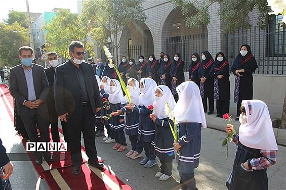 مراسم افتتاحیه آموزشگاه سزاوار رحمت ناحیه یک مشهد