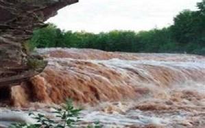 خسارت  اولین بارش پاییزی  و سیل در هرسین