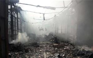 دستور قضایی بررسی آتشسوزی بازارچه ساحلی بندر دیلم؛ یک نفر بازداشت شد