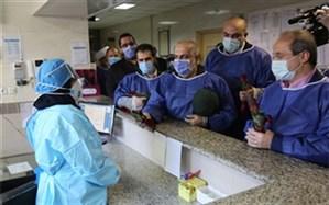 مسوولان از مدافعان سلامت در بیمارستان رازی رشت قدردانی کردند