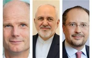 رایزنی تلفنی ظریف با وزیران خارجه هلند و اتریش