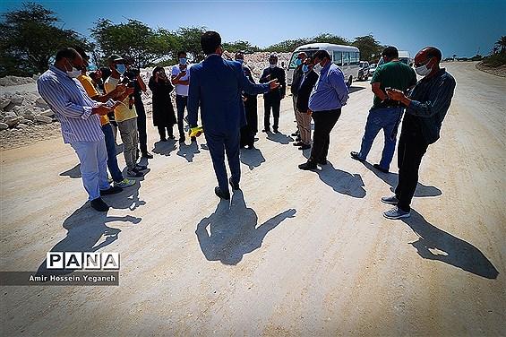 اجرای طرح آزادسازی سواحل جزیره کیش