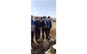 بازدید از مناطق سیل زده در هرسین