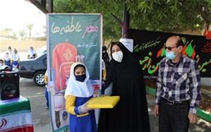 جشن مهر عاطفهها در مدارس منطقه آب پخش برگزار شد