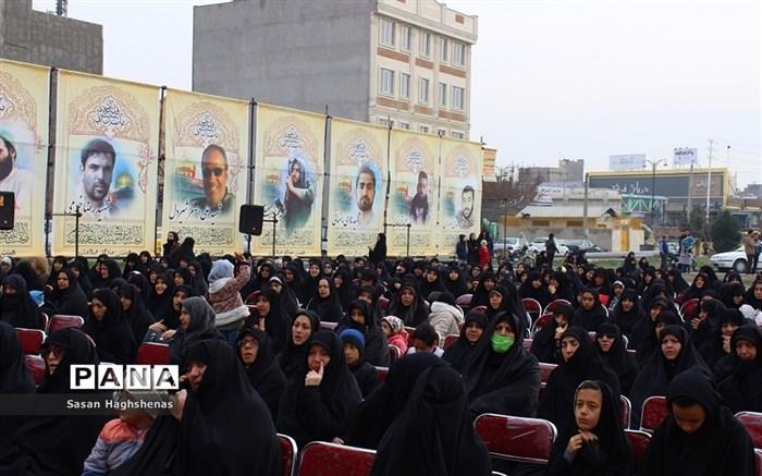 تجمع هیات مذهبی شهرستان اسلامشهردرسالروز شهادت حضرت فاطمه زهرا(س)