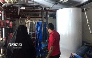 بازسازی و نوسازی استخر مجموعه ورزشی شهید عراقی منطقه چهار