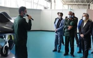 بازدید اعضای شورای نگهبان از نمایشگاه دستاوردهای هوافضای سپاه