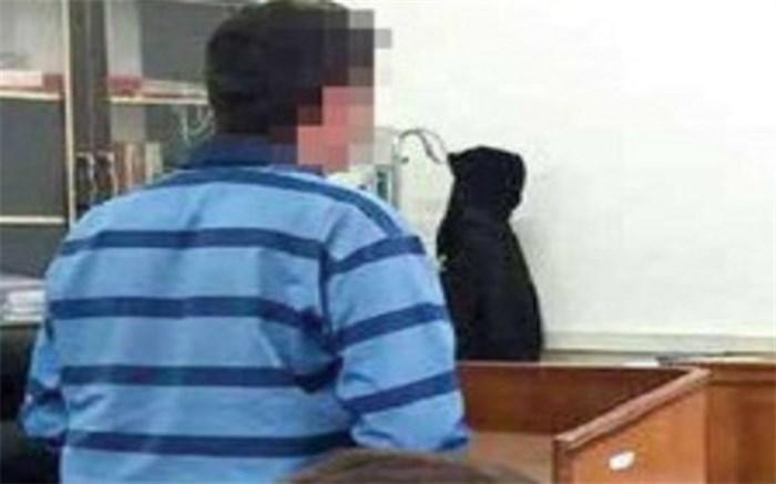 انکار قتل همسر و فرزند در دادگاه