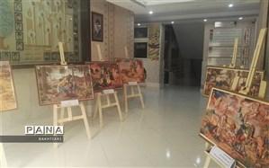 نمایشگاه عکس اربعین حسینی در منطقه چهار