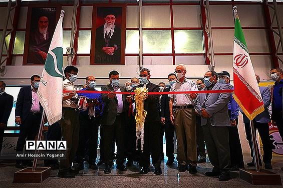 افتتاحیه نمایشگاه بین المللی فولاد ایران در جزیره کیش