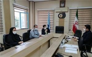 نشست مشترک رئیس اداره آموزش و پرورش استثنایی با معاونت اداره فنی و حرفه ای استان البرز