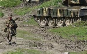 اخطار ایران در پی اصابت راکتهای جنگ قرهباغ به مناطق مرزی