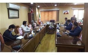 """جلسه کمیته اجرایی بسته تحولی """" هر دانش آموز یک نقش اجتماعی """" در آموزش و پرورش مریوان برگزار شد"""
