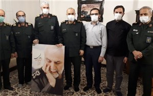 سرلشکر سلامی: ارزشمندی و هویت سپاه به شهدا و پاسداران است