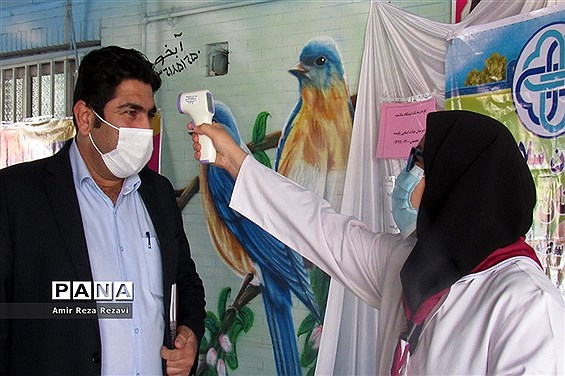 بازدید مدیر سازمان دانشآموزی خوزستان از مدرسه  تشکیلاتی پاینده