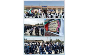 برگزاری  مراسم افتتاحیه و کلنگ زنی مدارس در گناباد