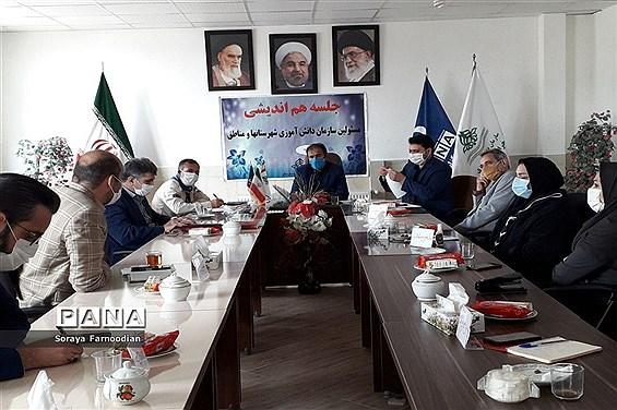 برگزاری جلسه هماندیشی در سازمان دانشآموزی خراسان شمالی