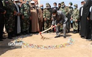 آغازعملیات ساخت مدرسه ۶ کلاسه شهید تیماسی در اهواز