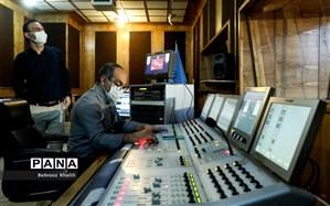 استودیوی شماره دو رادیو اربعین در حرم امام رضا (ع)