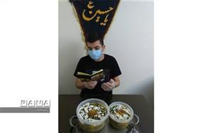 برگزاری اربعین دانش آموزان دبیرستان پانزده خرداد منطقه 12