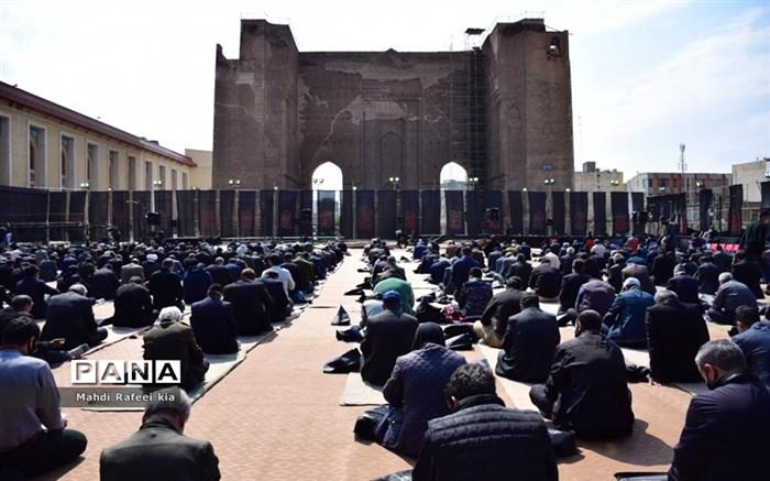 مراسم اربعین در مصلی تبریز