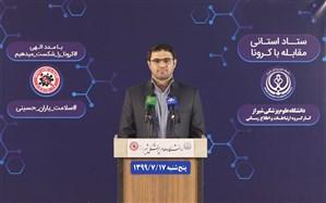 بستری ۱۰۵۴ بیمار مشکوک و دارای علامت کروناویروس در بیمارستان های فارس
