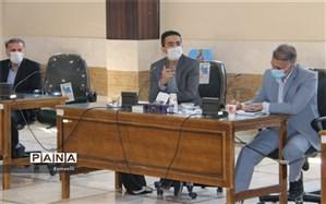 حضور نمایندگان مجلس دانش آموزی در جلسه شورای برنامه ریزی سازمان دانش آموزی