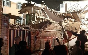 ریزش ساختمان جان یک نفر را در ساوه گرفت