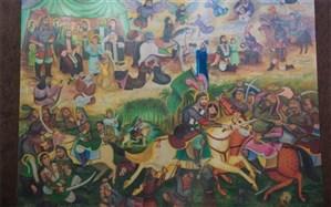 فروش نقاشی قهوهخانهای برای ساخت مدرسه