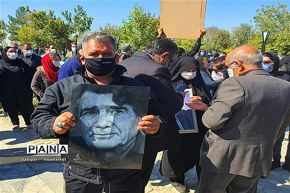 آیین خاکسپاری خسرو آواز ایران