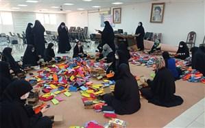 تهیه و توزیع ۱۶۰۰ بسته نوشت افزار برای دانش آموزان کم برخوردار خوزستان