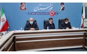 استاندار خوزستان: کاهش رعایت پروتکل ها از ۵۹ درصد به ۴۲ درصد مایه نگرانی است