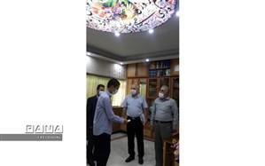 مسابقه کتابخوانی مجازی در دبیرستان فرهنگ شهید احدزاده منطقه 4