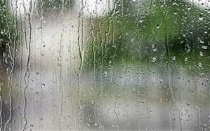 بارش پراکنده باران در سواحل دریای خزر