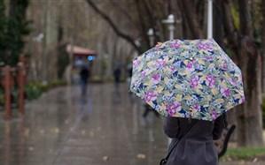 بارش ۲۴ میلی متر باران در خوانسار