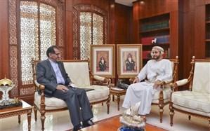 دیدار سفیر ایران در عمان با وزیر فرهنگ، ورزش و جوانان این کشور