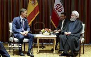 روحانی: تعامل و گسترش روابط تهران با مادرید از اولویتهای ایران است