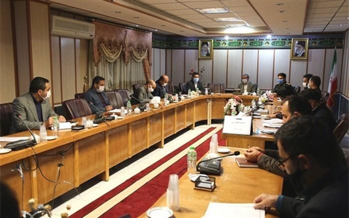 جلسه شورای هماهنگی طرح ملی لاله های روشن دراداره کل آموزش و پرورش اردبیل