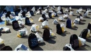 ۲۰۰ بسته آموزشی و معیشتی در قالب پویش لبخند در شهرستان قرچک توزیع شد