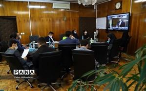 حضور نمایندگان مجلس دانش آموزی شهر تهران در اختتامیه نهمین دوره مجلس دانش آموزی کشور