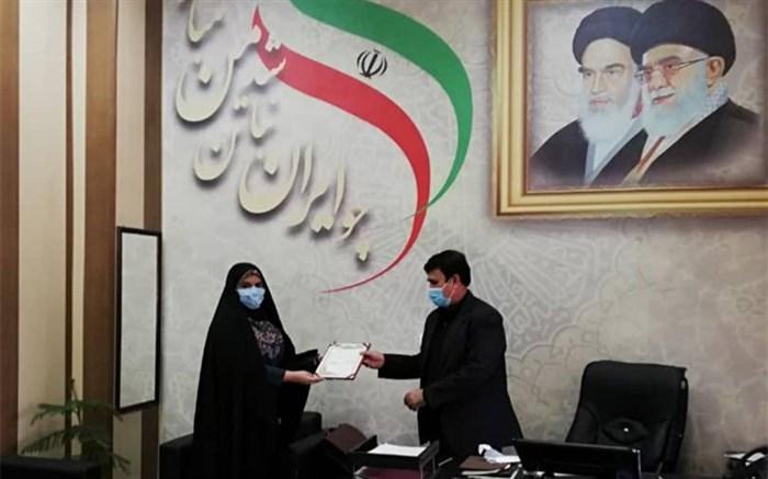 مدیر کل بازرسی  استانداری هرمزگان عضو افتخاری مجمع سفیران جوان شد