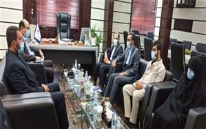 نشست  قائم مقام دبیرکل اتحادیه انجمنهای اسلامی دانش آموزان کشور با مدیرکل آموزش و پرورش استان بوشهر