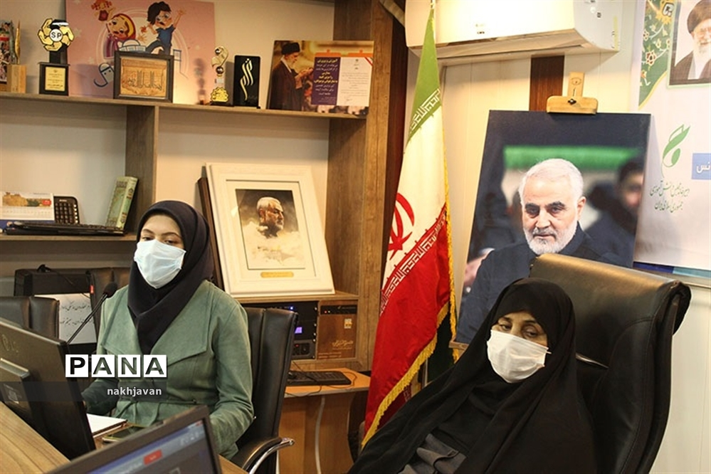 آیین اختتامیه نهمین دوره مجلس دانش آموزی کشور در کرمان