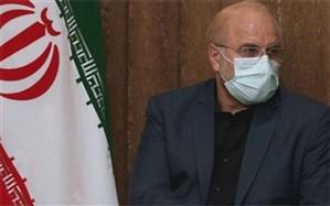 رئیس مجلس درگذشت عمران علیمحمدی را تسلیت گفت