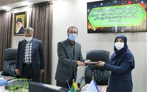 «مهین منافی» به عنوان سرپرست اداره کل آموزش و پرورش استان آذربایجان غربی معرفی شد