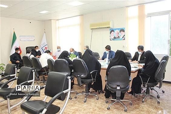 نشست هماهنگی اجرای طرح هیات اندیشهورز نماز مدارس استان بوشهر