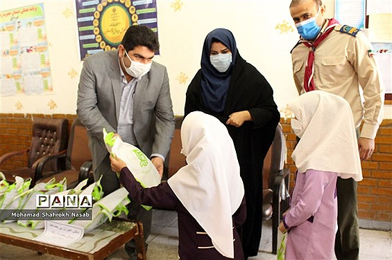 بازدید رییس و کارشناسان سازمان دانش آموزی خوزستان از مدارس سوسنگرد