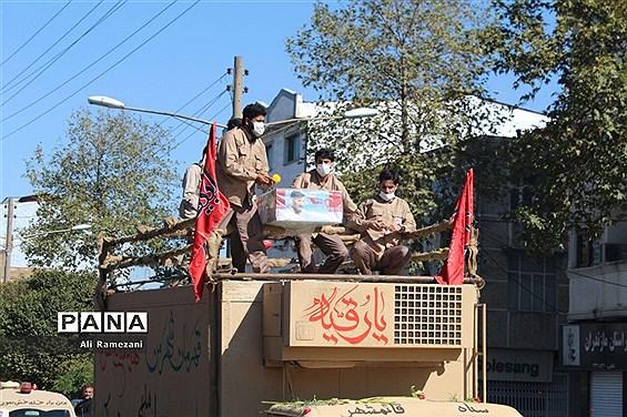 پیکر 5 شهید مدافع حرم مازندران در زادگاههایشان تشییع و تدفین شد