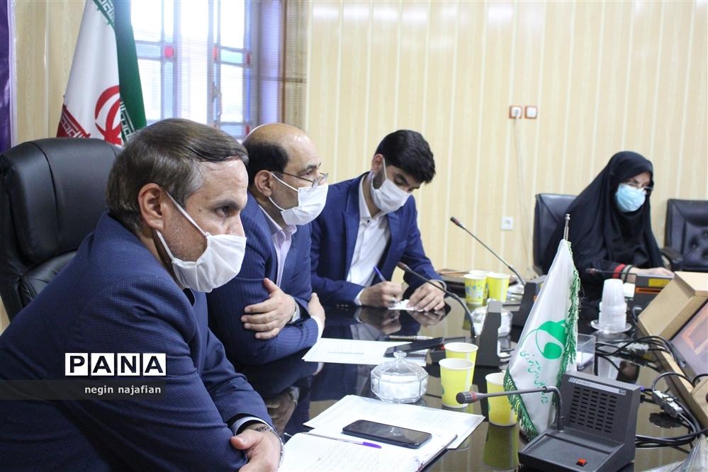 اختتامیه نهمین دوره مجلس دانش آموزی در یزد