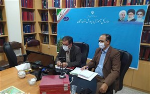 جلسه بهبود کیفیت کارشناسان سنجش و آموزش متوسطه مناطق 14گانه استان زنجان برگزار شد